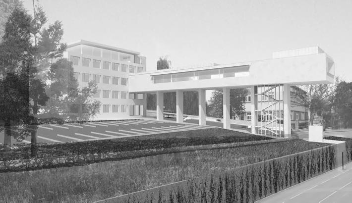 Dostavba radnice v Litomyšli