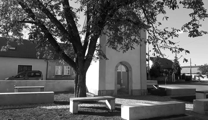 Obnova kaple v Sokolči
