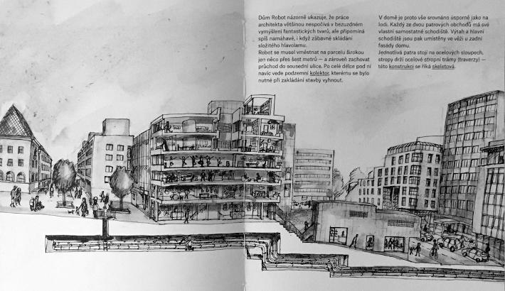 Dům Robot v knize K čemu jsou architekti