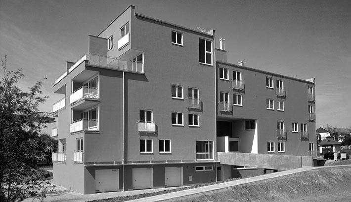 """Bytový dům v Kroměříži """"Hroch"""""""