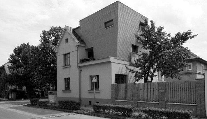 Stavební úpravy vily v Lysé nad Labem